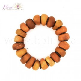 VA05 Antique Amber bracelet 34grams