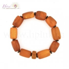 VA08 Antique Amber bracelet 22.5grams
